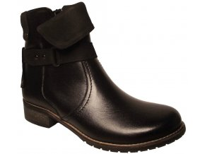 Dámské zimní kotníkové boty Hujo EW 589 černá