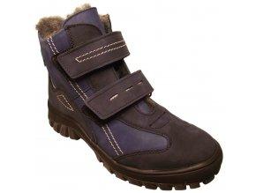 Dětské zimní kotníkové boty Essi S 1562 modrá