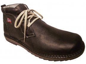Pánská zimní obuv NES 4050 šedá