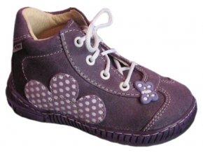 Dětské celoroční boty Pegres 1401B fialová