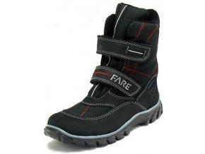 Dětské zimní kotníkové boty Fare 2646217 černá
