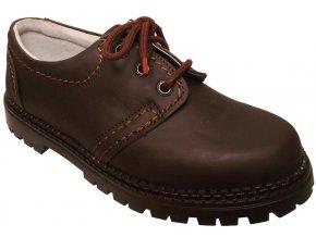 Dámská celoroční obuv Redno 096 602 hnědá