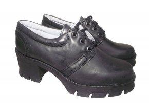 Dámská celoroční obuv Redno 096 603 černá