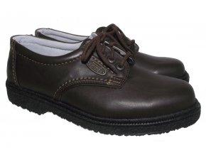 Pánská celoroční obuv Redno 096 611 hnědá