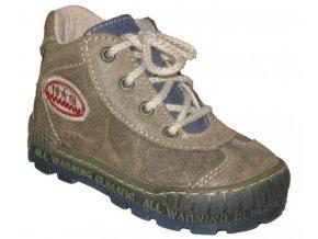 Dětské celoroční boty Pegres 1401 hnědá