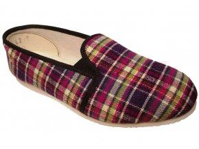 Dámské domácí papuče Bokap 082 fialová