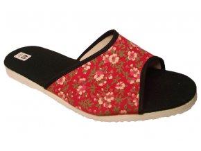 Dámské domácí pantofle Bokap 003 červená