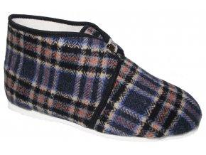 Pánské domácí papuče Bokap 073 modrá