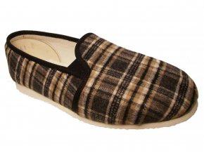 Pánské domácí papuče Bokap 072 šedá