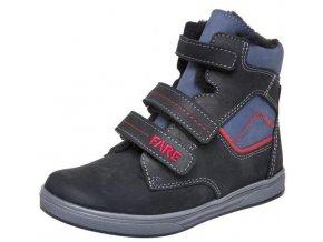 Dětské zimní kotníkové boty Fare 2649201 černá