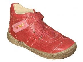 Dětské celoroční boty Pegres 1403 červená