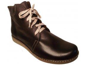 Dámské zimní kotníkové boty Hujo J 3822 hnědá