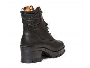 Dámská zimní kotníková obuv Redno 096 404/Z černá