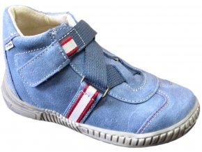 Dětské celoroční boty Pegres 1403 modrá