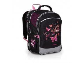 Školní batoh Topgal CHI 710 růžový motýl