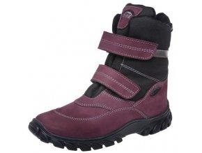 Dětské zimní kotníkové boty Fare 2646292 fialová