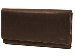 Dámská kožená peněženka Lagen V 25 hnědá