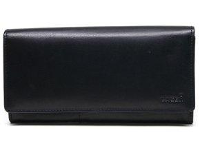 Dámská kožená peněženka Lagen v-102 černá