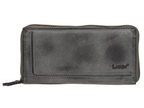 Dámská kožená peněženka Lagen 525 šedá