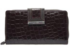 Dámská kožená peněženka Lagen 614812 hnědá