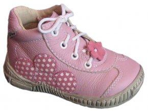 Dětské celoroční boty Pegres 1400 růžová
