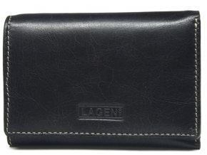 Dámská kožená peněženka Lagen 2521 černá