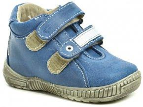 Dětské celoroční boty Pegres 1404 modrá