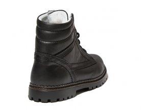 Dámská zimní kotníková obuv Redno 096 606/Z  černá