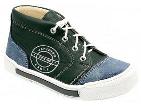 Dětské celoroční boty KTR 149 zelená