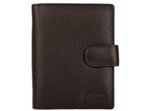 Dámská kožená peněženka Lagen B 03 hnědá