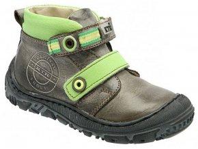 Dětské celoroční boty KTR 166 hnědá
