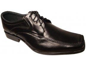 Pánská společenská obuv Hujo F 0106 černá
