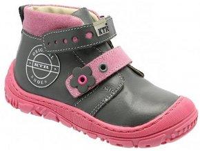 Dětské celoroční boty KTR 166 růžová