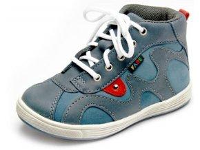 Dětské celoroční kotníkové boty Fare 818101 modré