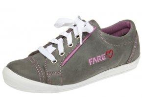 Dívčí celoroční boty Fare 2617162 šedé
