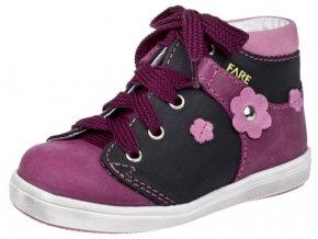 Dětské celoroční kotníkové boty Fare 2126193 fialové