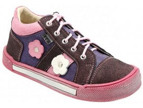 Dětské celoroční boty KTR 165 růžová