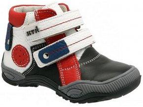 Dětské celoroční boty KTR 162 bílá