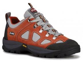 Dámská treková obuv Olang Montana.Tex oranžová