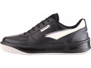 Klasická celoroční obuv Prestige černá