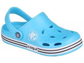 Dětské sandály Crocs Coqui FROGGY modré