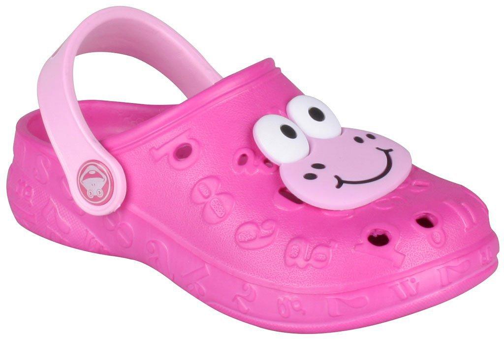 Dětské sandály Crocs Coqui Hoppa růžové Velikost: 28 (EU)