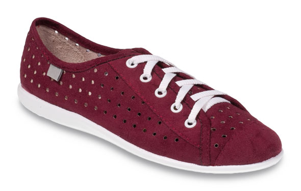Dívčí textilní tenisky Befado 310Q010 vínové Velikost: 38 (EU)