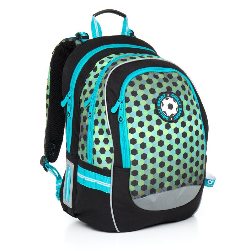 Topgal školní batoh Chilli CHI 800 E Green