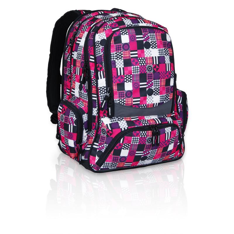 Topgal studentský batoh HIT 804 I Violet