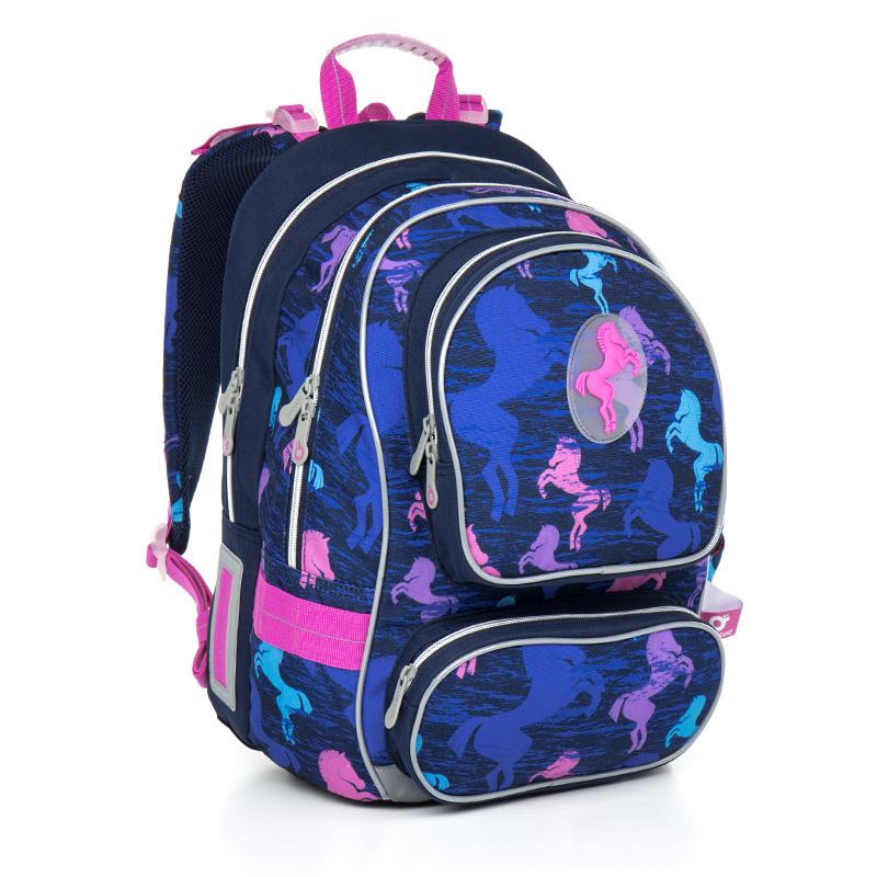 Topgal školní batoh Chilli CHI 803 D Blue
