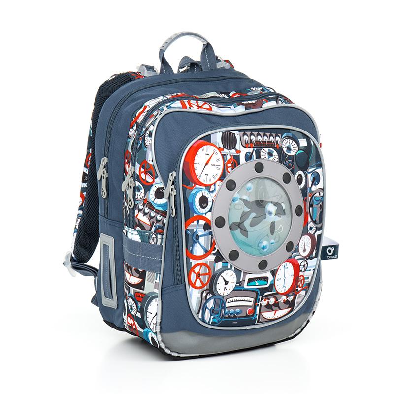 Topgal školní batoh Chilli CHI 791 Q Tyrquise