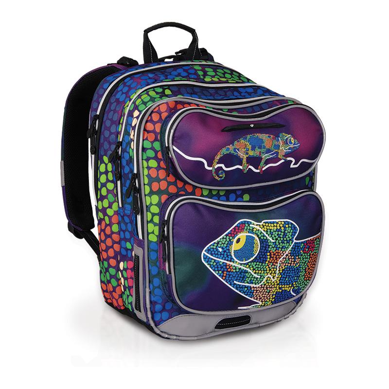 Topgal školní batoh CHI 602 D CHAMELEON BLUE