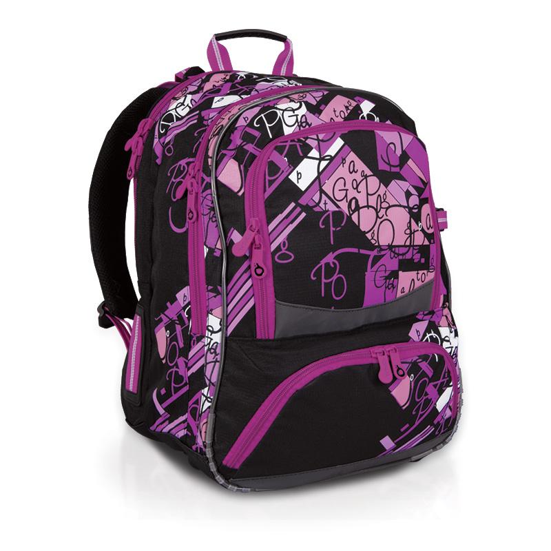 Topgal školní batoh CHI 610 A black