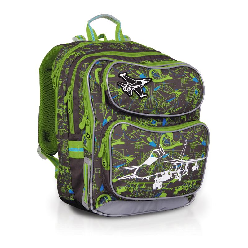 Topgal školní batoh CHI 698 C grey